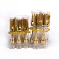 elektronik sigara ego ce7 toptan satış-10 adet. 5 ml 1 ml 510 iplik Cam seramik bobin TH205 TH210 vape altın CO2 İpucu Ile kalın seramik viskoz yağ