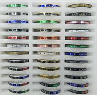 ingrosso tachimetro nero-Beichong più nuovo all'ingrosso logo personalizzato e dimensioni nero acciaio inossidabile 316l braccialetto tachimetro per uomini e donne