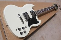 Wholesale sg factory for sale - Group buy Factory custom shop New high quality ocean white SG Electric Guitar