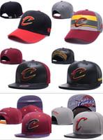 Wholesale unisex locker - free shippping 2018 SnapBack Cleveland CAVS Locker Room Official Hat Adjustable men women Baseball Cap