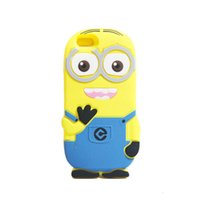 Wholesale minion iphone cases for sale – best For iPhone Case Fashion Cute D Cartoon the Minions Protective Silicone Phone Case Skin for Apple iPhone iPhone The Minion Bob