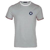 color sólido xxxl camisetas al por mayor-Verano de los hombres de la marca de fábrica MON camiseta de manga corta hombres color sólido de alta calidad Skulls Sports Camisetas hombres camiseta S-XXXL