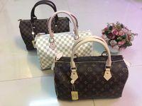 Wholesale pillow fiber - Women handbag handbag ladies designer designer handbag high quality lady clutch purse retro shoulder bag 3 colors Dust bag + lock
