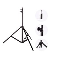 Wholesale light stand for flash - Photo 2M(79in) Light Stand Tripod With 1 4 Screw Head For Photo Studio Softbox Video Flash Umbrellas Reflector Lighting