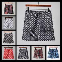 Wholesale wool fleece pants - 18s Men's Ds2 Shorts Men Fashion Knee Length Luxury Printing Shorts Men's Short Pants Black Mens Brand Beach Shorts Sweatpants Si