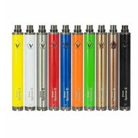 ego evod batterie elektronisch großhandel-Vision Spinner II 2 Twist Batterie 1650MAH Variable Spannung 3.3V-4.8V 510 Ego Thread Evod für elektronische Zigarette Dampf