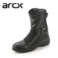 Wholesale leather ladies riding boots - New Motorcycle waterproof genuine leather Boots,Racing Boots touring boots , Riding Road size 36-45 lady size