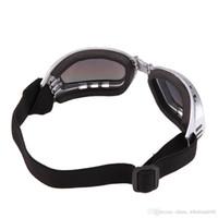 dog sunglasses al por mayor-Gafas de sol del perro del verano a prueba de viento del animal doméstico gafas de protección contra el desgaste del ojo Multi-Color de moda a prueba de agua para mascotas suministros