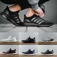 Wholesale Online Media - Ultra 4.0 Triple White black CNY Running Shoes Ultra Women Men Run Shoes Sports Trainers Ultra Sneaker eur 36-45 online