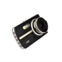 черный ящик для камеры оптовых-2ch двойной объектив автомобильный видеорегистратор dashcam 4