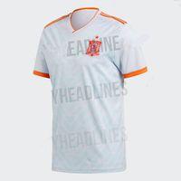 Wholesale Mundial Soccer - España camisetas de futbol Copa Mundial 2018 España camiseta de futbol Asensio Morata Football Shirt ISCO Ramos Iniesta Maillot