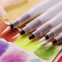 brosses d'écriture achat en gros de-Stylo de brosse d'écriture d'eau pilote de vente chaude pour la calligraphie de couleur de l'eau d'étudiant