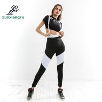 Wholesale yoga pants female resale online - Zuoxiangru Women Yoga Pants Sport Leggings Yoga Pants Slim Straps Leggings Female Gym Running Women Fitness