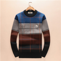 Wholesale sweater for man high neck - 2018 New Brand Men's women Sweaters T Shirt High Quality Men Sweater Size M-3XL Designer Style Fashion Luxury Clothes For Free Shipping