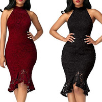 Lace Collared Dress Bodycon Online Wholesale Distributors