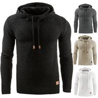 sudaderas con capucha al por mayor-Europa y los Estados Unidos otoño casual con capucha con capucha caliente Sudadera chaqueta chaqueta abrigo suéter