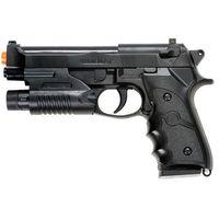 Wholesale airsoft laser sights - AIRSOFT SPRING HAND GUN PISTOL M9 92 FS BERETTA AIR w  LASER SIGHT 6mm BB BBs