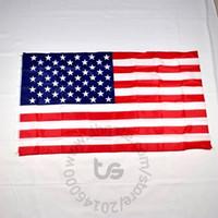 Wholesale america national - United States USA US America flag national Free shipping 3x5 FT 90*150cm Hanging National flag USA Home Decoration flag banner