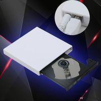 USB 2.0 External CD-RW DVD-RW Burner Drive Recorder Optical Drive for Tablets PC Mac Laptop Notebook Desktop External Slim Drive