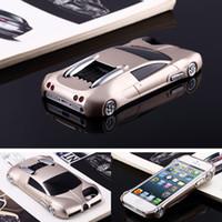 iphone carro 3d venda por atacado-3d moda esporte legal carro de corrida para iphone 5s case rápido furioso luxo pc phone case capa para iphone 5 se coque fundas