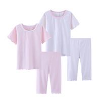 5f28be39c9 trajes de dormir para niños al por mayor-Pijamas de verano para niñas ropa  de