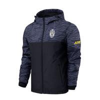 fermuarlar yaz ceketleri toptan satış-Yaz Ceketler Erkekler Ceket Bahar Sonbahar Pamuk Jaqueta Masculina Erkek Bombacı Ceketler Fermuar Hoodies Ceket Erkekler Eşofman 50J0184