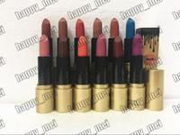 rouges à lèvres 3.8g achat en gros de-EPacket Nouveau maquillage lèvres 3.8g NO: K927 édition anniversaire rouge à lèvres mat! 12 couleurs différentes