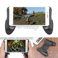Wholesale gamepad android iphone resale online - Gamepad Mobile Phone Stand Adjustable Inches Game Control Joystick Phone Holder Clip Mount Universal For Android iPhone Smartphone