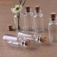 Wholesale 13 Jar - Wholesale- JY 13 Mosunx Business 2016 Hot Selling 24 Small Mini Glass Jars with Cork Stoppers