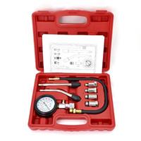 ingrosso gm tester diagnostico-9 PCS Misuratore di pressione del tester del compressore del misuratore di pressione del tester del misuratore di pressione del compressore del motore a benzina