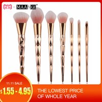 Wholesale black eye shadow powder for sale - Group buy MAANGE Diamond Makeup Brushes Set Powder Foundation Eye Shadow Blush Blending Cosmetics Beauty Make Up Brush Tool Kits D18110902