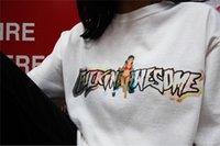 chicas cool tees al por mayor-Nuevo puta madre niñas Jingxiang camisetas estampadas diseño fresco Hombres Tees Patinetas alta calidad 100% amantes del algodón de las camisas ocasionales
