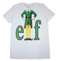film elves achat en gros de-Film Elf - Costume Elf - T-shirt Officiel Pour Hommes