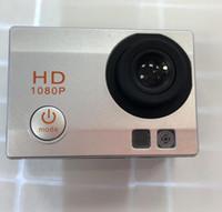 Wholesale fix cmos camera online - 1pcs Latest appearance freestyle inch LCD P Full HD HDMI action camera meters waterproof DV camera sports helmet SJcam DVR0001