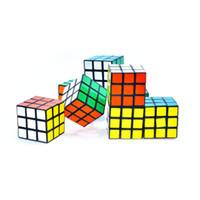juguetes rubik al por mayor-Puzzle Cube 3x3x3cm Mini Magic Cube Juego Aprendizaje Juego educativo Rubik Cube Buen regalo Juguete Juegos de descompresión Juguetes