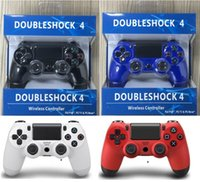 Wholesale NEW PS4 Controller Dual Vibration Effect For Playstation Connect USB Cable Support Long Running And Comfortable Buttons With Retail BOX
