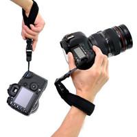 slr kameralar için el kayışı toptan satış-Etnik Stil Fotoğraf Kamera Canon EOS Nikon Için El Kavrama Sony Sony Olympus SLR / DSLR Bez Bilek Kayışı