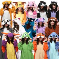ingrosso costume da cervo adulto-Adulti Costumi di Carnevale di Halloween Moogle Tiger Cat Orso Espeon Midnight Cat Deer Stitch Spyro Lemur Lucario cosplay