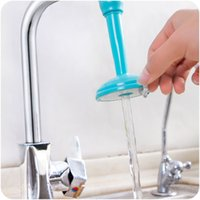 Wholesale tap nozzles - Adjustable Ultra Saving Extended Water Shower Nozzle Kitchen Sink Tap Wash Dish Faucets Showers Accs Replacement Bathroom Faucet 2 45ds C