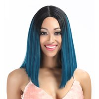 Wholesale Short Blue Ombre Hair Buy Cheap Short Blue Ombre Hair