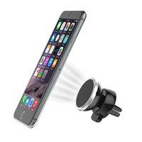 suporte para tablet para carro venda por atacado-Montagem magnética do carro do telefone para o painel com uma rotação de 360 graus. Suporte Universal, Suporte, Kit para Celulares, Tablets, GPS: iPhone X / 8s / 8