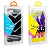 iphone blister achat en gros de-Mode Blister PVC En Plastique Transparent Emballage Au Détail Clair Emballage Sur Mesure Boîte D'emballage Sur Mesure Pour iPhone X 6s plus 7 8 Plus