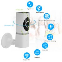 Wholesale active infrared - HD 720P 185 Degree Wireless WiFi Network IP Camera 2-way Talk Night View Support TF Card Record Support Active Call Baby Monitor