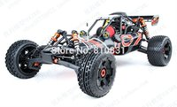 Wholesale Gas Engine Rc Airplane - Wholesale-Rovan 1:5 baja 260s RC Car Remote control car Model Car 26cc engine With NGK + Walbro