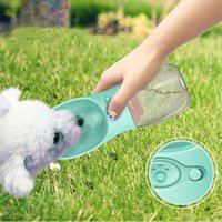 Wholesale novelty bicycles - Compact Size 350ML Pets Dogs Feeding Water Bottle Leakproof Outdoor Travel Dog Pets Drinking Water Bottle Tool