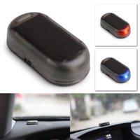 Wholesale Flash Simulation - LED Practical Solar Energy Car Alarm Fake Simulation Dummy Alarm Warning Flashing Light Anti-Theft Safety Device AAA195
