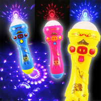 Wholesale chinese new year goods - Starlight Rod Flashing Toys Flash Of Light Babysbreath Microphone Sell The Goods On The Night Market Plastic Material ym W