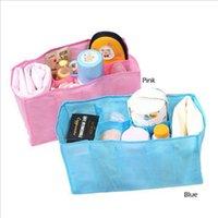 Wholesale Baby Diaper Nappy Bag Bottle - HOT Baby Diaper Nappy Water Bottle Changing Divider Storage Organizer Bag Liner