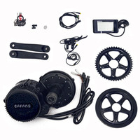 Wholesale electric bike conversion kits 48v - Bafang BBS02B 48v 750w Middle Drive Conversiom Kit Electric Motor Bike Conversion Kit Motor Electric Bike Electric Mid Kit