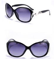 las mejores gafas de playa al por mayor-5118 Mujeres de lujo con gafas de sol polarizadas Gafas retro Grandes gafas Gafas Diamond Deco UV400 Shade Best for Party Beach